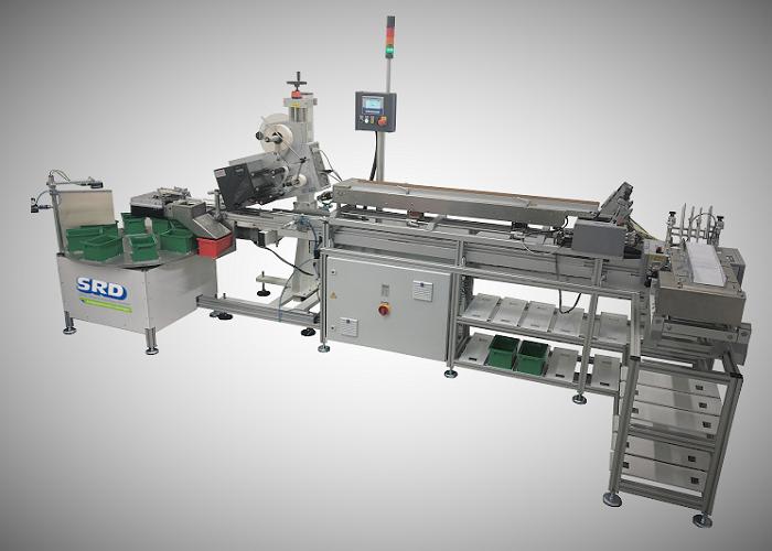 Etikettiermaschine SRD-ALX für Aluminiumbeutel