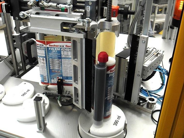Kartuschen-Etikettiermaschinen