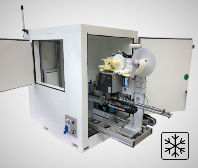 Palettenetikettierer SRD-primus-TK in Polarbox